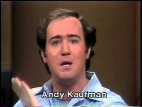 Andy Kaufman on Late Night , February 17, 1982