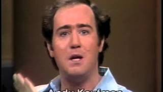 Andy Kaufman on Letterman , February 17, 1982