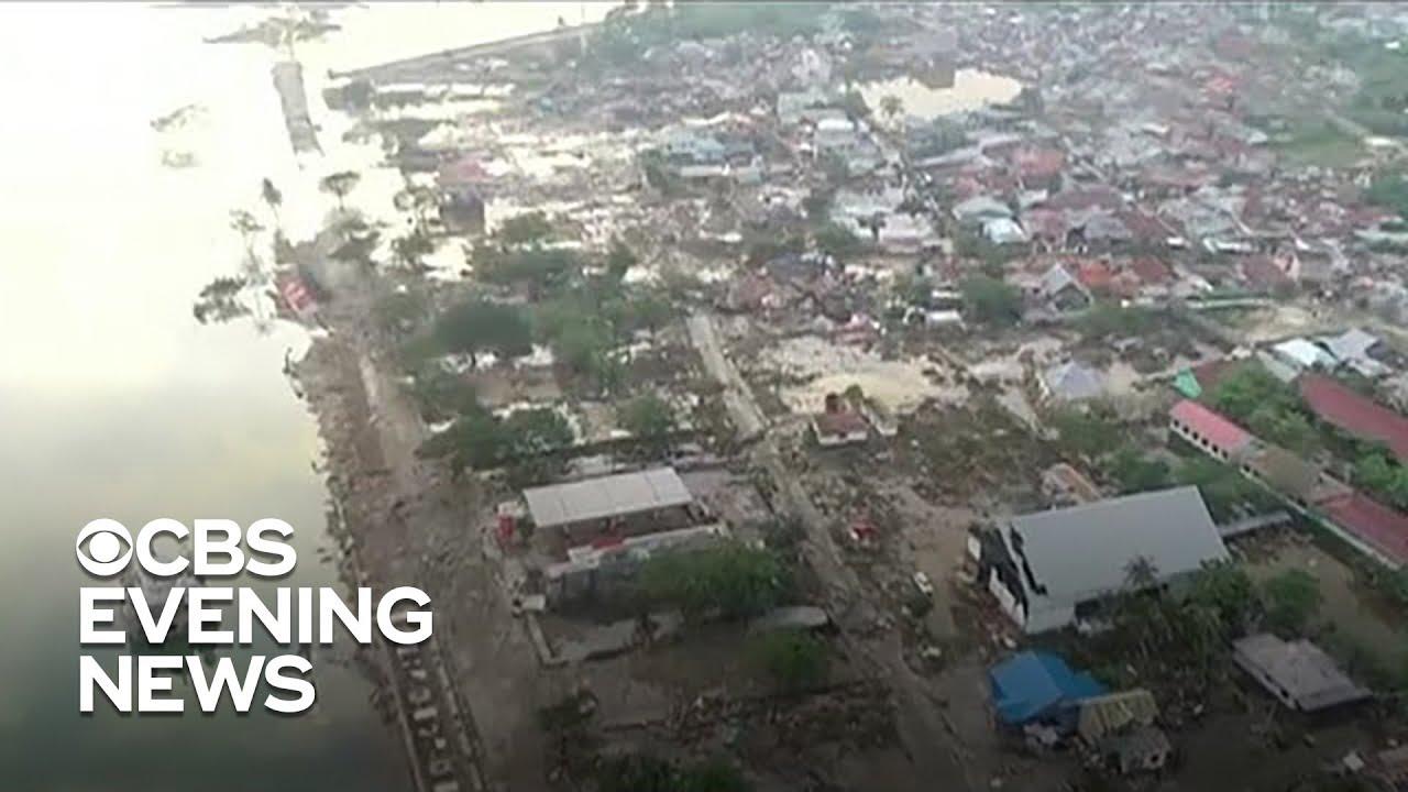 Death toll rises after earthquake, tsunami hit Indonesia