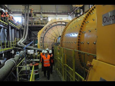 Работа на золотом руднике Александровском
