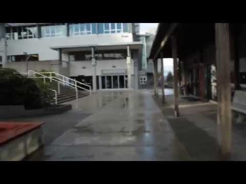 VIU Campus Tour- To Cafeteria and Quad