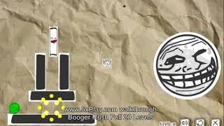 Booger Rush Walkthrough Full 20 Levels