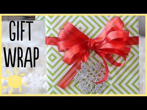 DIY/ Gift Wrap Ideas (+How to Make a Perfect Bow!!)