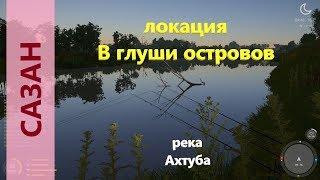 Русская рыбалка 4 река Ахтуба Сазан вместо язя