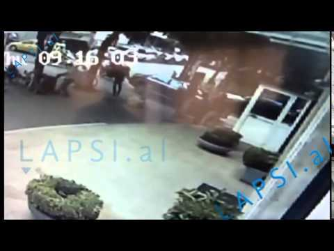 Albanian Banker Shot 6 Times and Dead in Tirana (Real Video)
