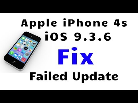 Fix IPhone 4s Error Failed Update [Bricked IPhone Working Again]