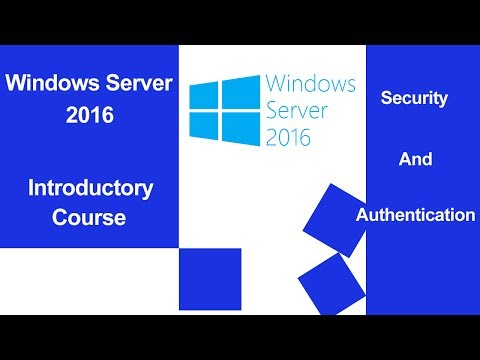 Windows Server 2016   Security and Authentication