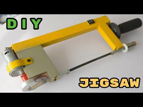 Homemade Hacksaw Machine | Metal Cutting Jigsaw