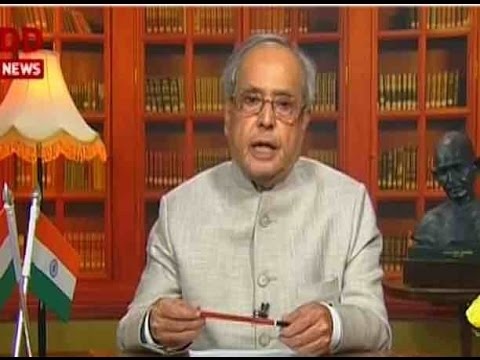 FULL SPEECH: President Pranab Mukherjee denounced forces of divisiveness on Independence Day eve