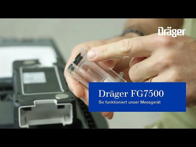 Abgasmessung mit dem Dräger FG7500 (Webinar). So funktioniert unser Messgerät.