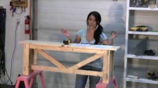 Ana Rustic Bench 2.wmv