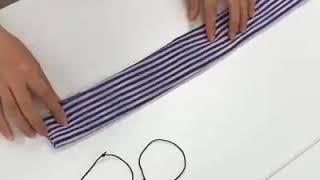 Dari pd beli mending buat sendiri, ini cara membuat masker kain