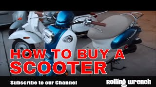 How to buy a scooter