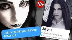 I Signed Up For GOTH'S ONLY Tinder... (the results were scary)
