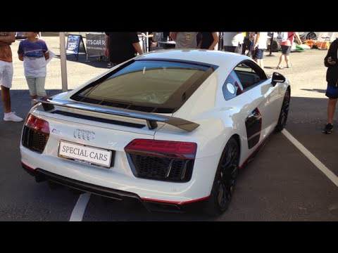 New Audi R8 V10 Plus Sound And Interior 2017 Youtube