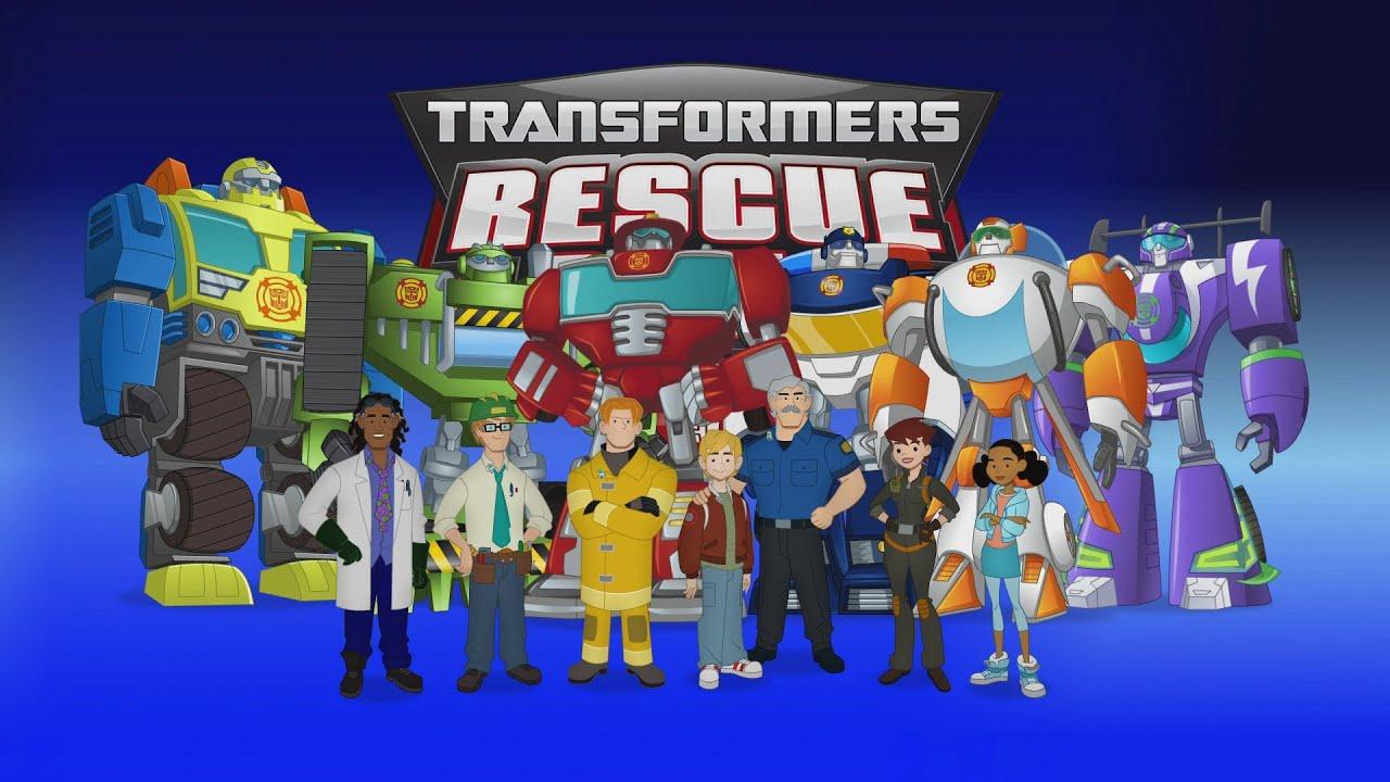 Rescue Bots Season 4 Episdes 1 2 After Show Cast QA