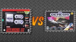 SNES Classic Edition vs. Sega Genesis Mini