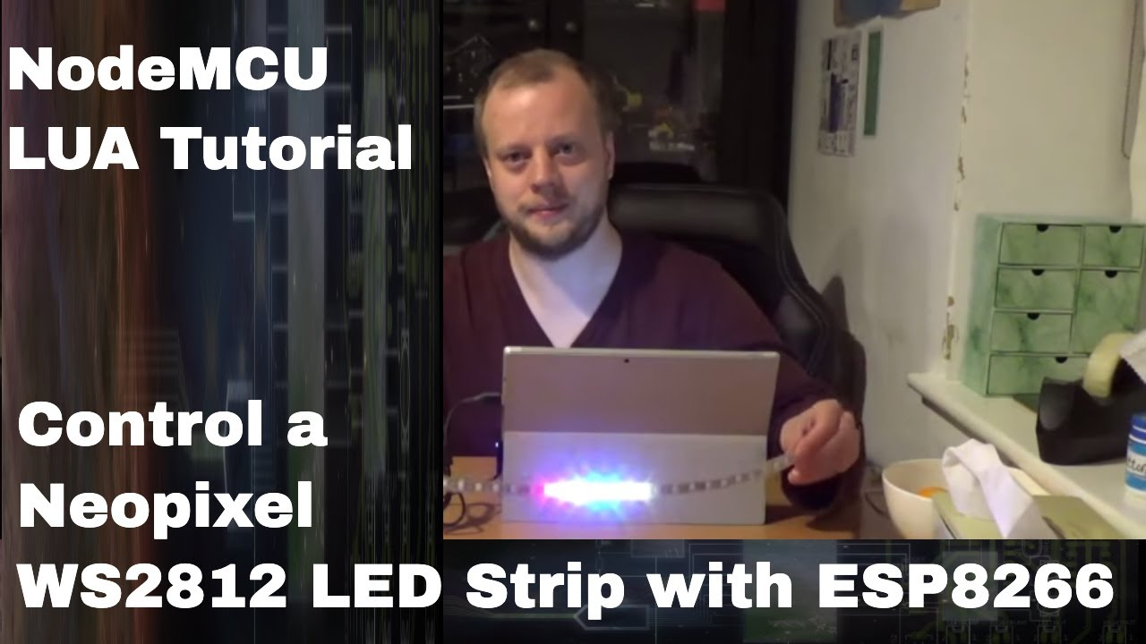 Ws2812 Neopixel Led Strip With Esp 8266 And Nodemcu