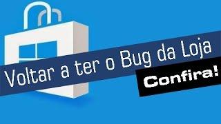 Tutorial - Como Voltar a ter o BUG DA LOJA no Windows 10 Mobile | Baixar Apps e Games Indisponiveis