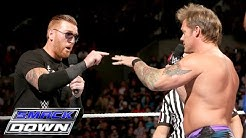 The Social Outcasts descend upon Chris Jericho and AJ Styles' rematch: SmackDown, February 11, 201.
