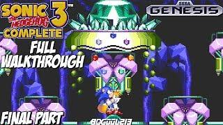 Sonic 3 Complete Gameplay Full Walkthrough Part 2 - Sega Genesis