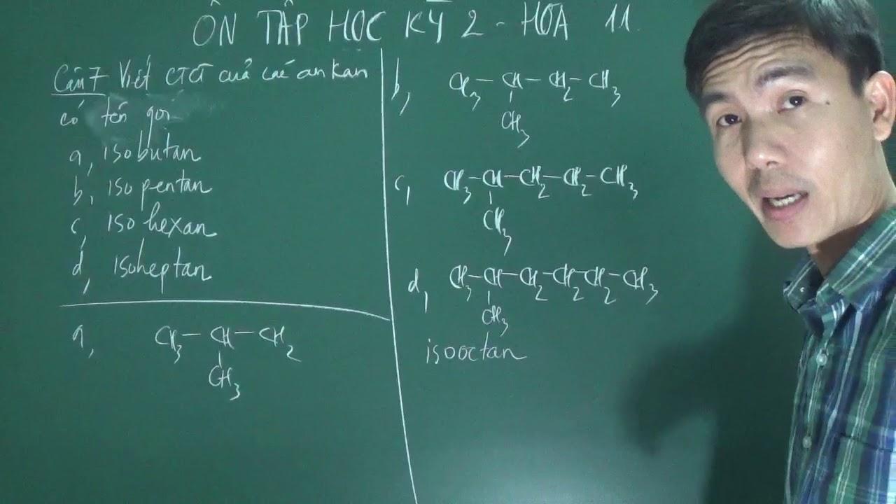 Hóa 11 – Cách sử dụng tiền tố iso khi gọi tên ankan (for Mr Đức)
