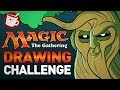 Magic: The Gathering Drawing Challenge