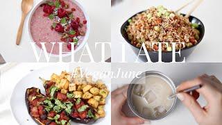 What I Ate #VeganJune 18 (Vegan/Plant-based) | JessBeautician