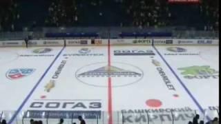 Прерванный матч КХЛ-2011/2012 Салават Юлаев - Атлант(светлая память парням из ХК