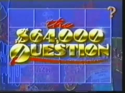 The $64,000 Question  Series 1 Episode 1  1st June 1990