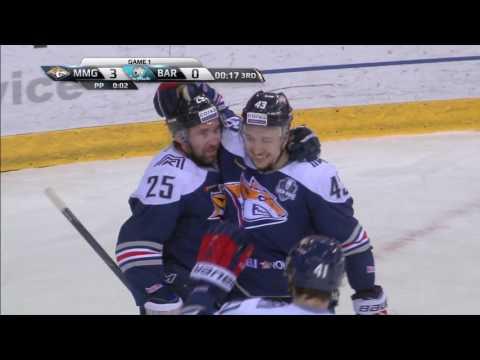 Zaripov scores after 2 cross-ice passes