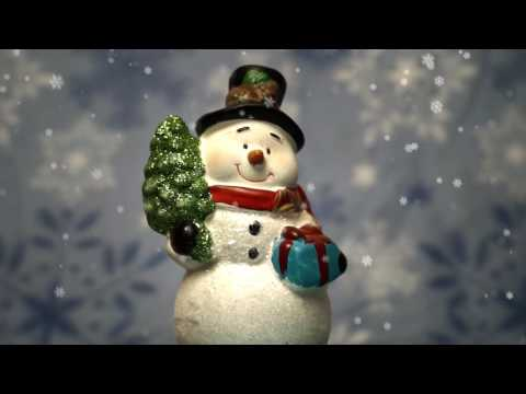 ✰ 12 HOURS ✰ Relaxing CHRISTMAS Music with Snowman Snowglobe ♫ Peaceful Acoustic PIANO Music ✰ Baby