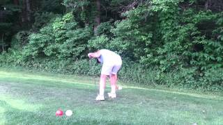 Duck waddle golf swing
