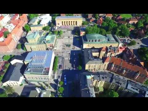 Avenyn, Götaplatsen, Lorensberg, Göteborg Sweden In UHD