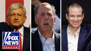 Three very different candidates vie for Mexico