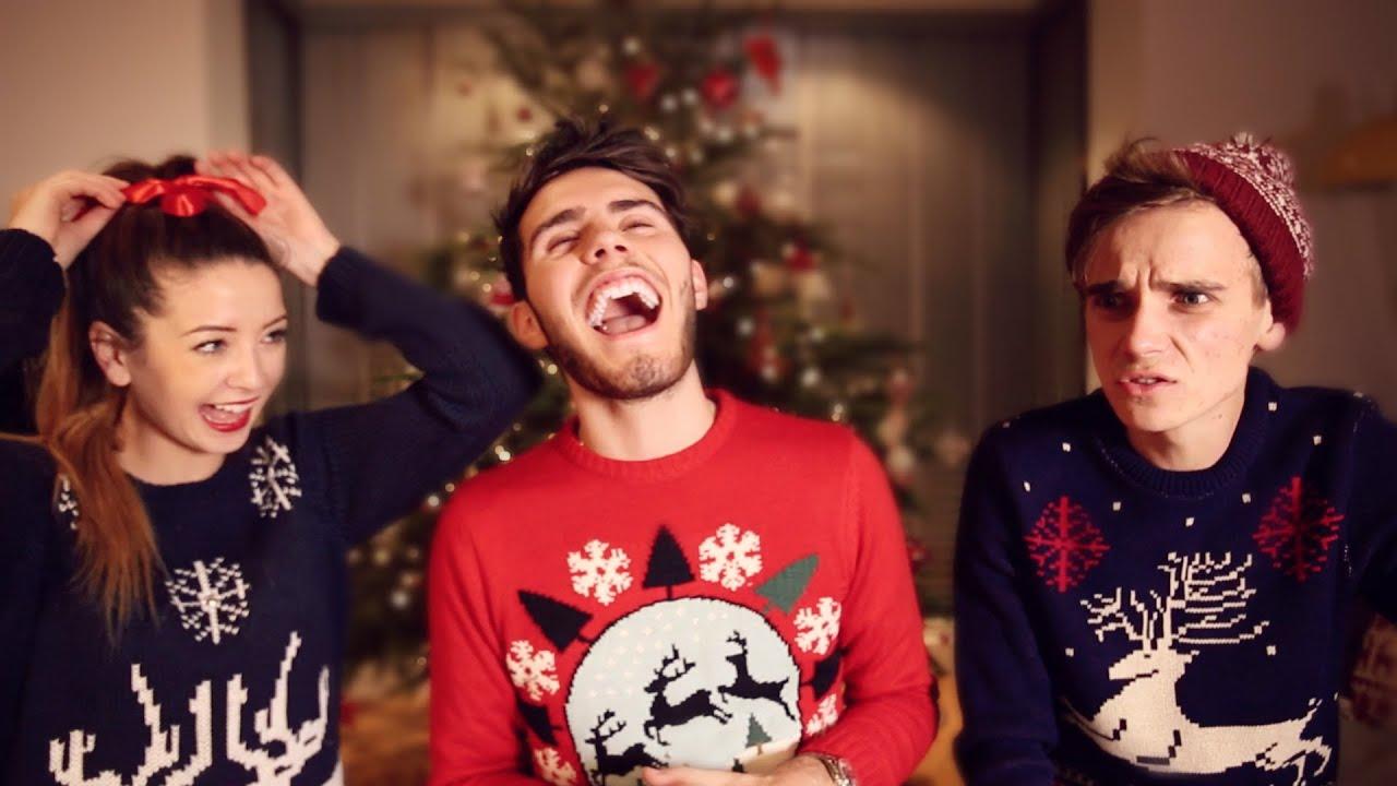 Dan And Phil Christmas Sweater.The Christmas Youtuber Challenge