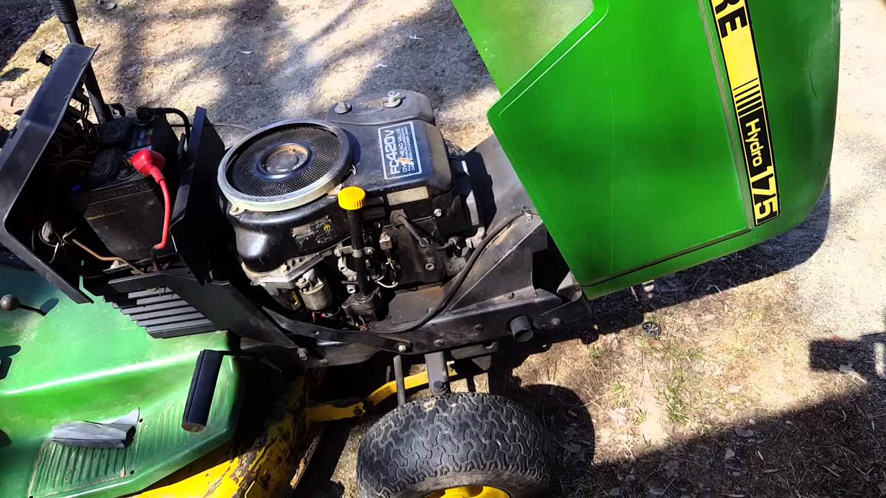 Fc420v no spark fix  John Deere Hydro 175  - YouTube