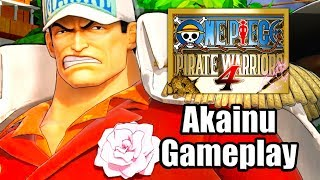 One Piece: Pirate Warriors 4 (2020) - Akainu Gameplay [PS4 Pro]