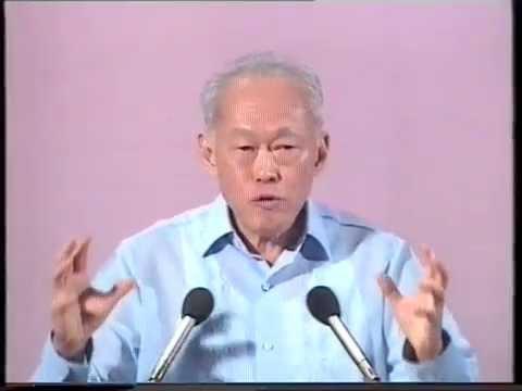 Lee Kuan Yew Last National Day Speech (1990) - Part 5