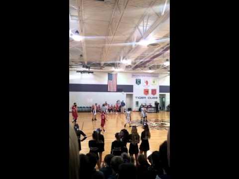 Greencastle Middle School boys basketball 2016(2)