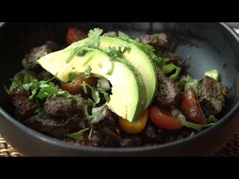 A DIY Steak Burrito Bowl That's Like Fast Food, but Healthier