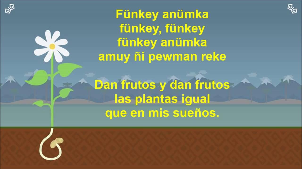 cancion de las plantas