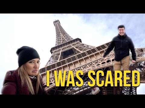 IN PARIS AND SCARED ON THE EIFFEL TOWER!