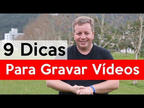 9 Dicas para Gravar Vídeos para o YouTube
