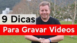 Baixar 9 Dicas para Gravar Vídeos para o YouTube