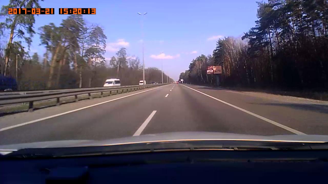ДТП на Житомирской трассе. Разворот возле Чайки
