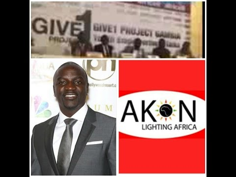 The Akon Lighting Africa Solar Project In The Gambia