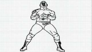 Batista WWE - How to draw Batista - Video - Batista from WWE