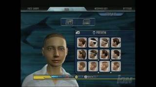 Top Spin 2 Xbox 360 Gameplay - Create A Butter Face