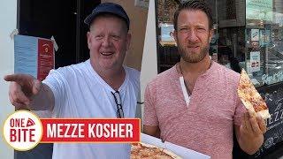 Barstool Pizza Review - MEZZE Kosher Pizza (Forest Hills,NY) Bonus Sushi Review